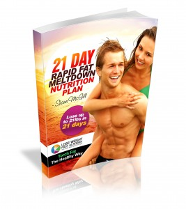 21 Day Rapid Fat Meltdown Nutrition Plan 3d